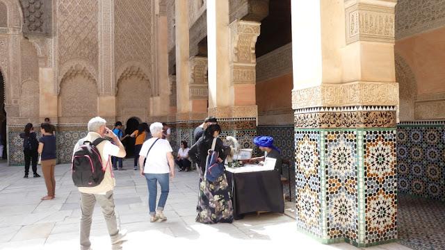 Marrakesch - Medersa Ben Youssef