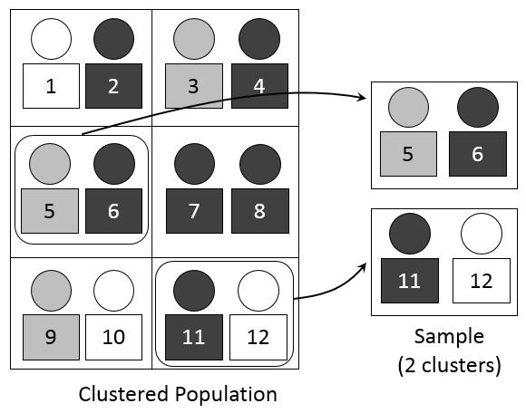 Cluster sampling: Definition, application, advantages and disadvantages.
