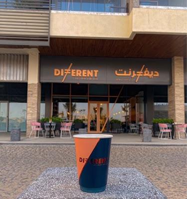ديفرنت كافيه - Different الرياض | المنيو واوقات العمل والعنوان