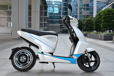 New Terra A4000i Electric Scooter HD Images