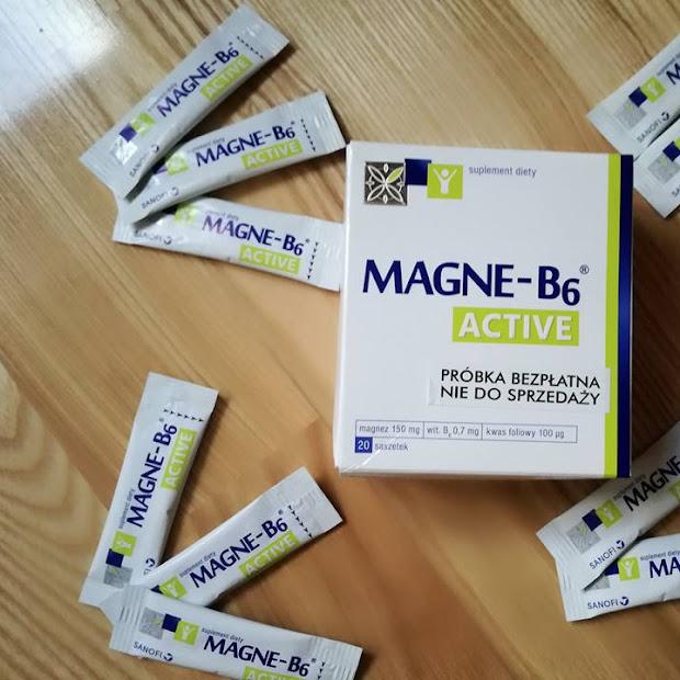 Magne B6 Active czyli produkt na poprawę humoru?