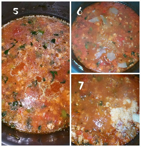 How to make one pot chicken lasagna soup