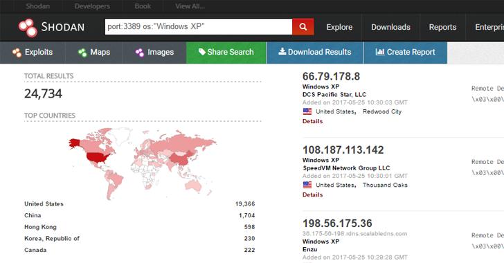Wanna Cry Again? NSA's Windows 'EsteemAudit' RDP Exploit