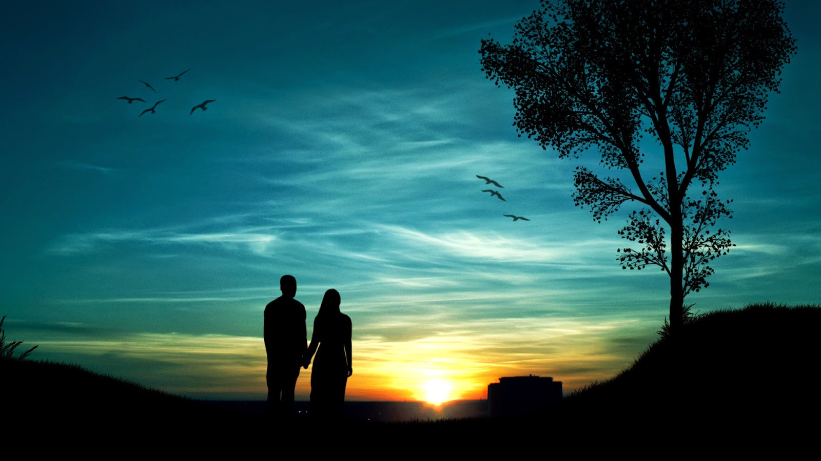 Love c couple walpaper HD