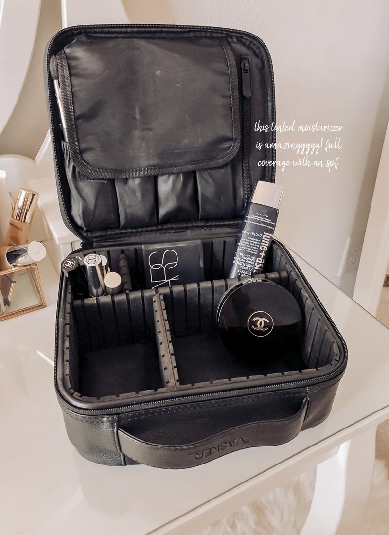 blue mercury amazon travel cosmetics bag
