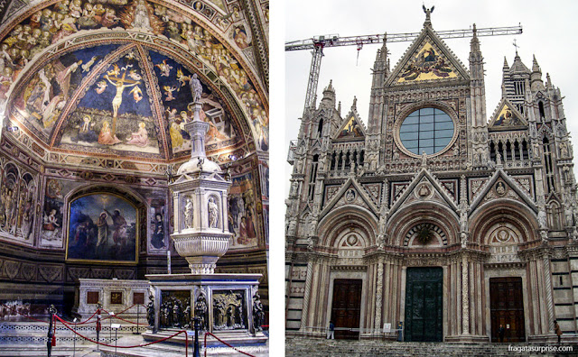 Batistério e Catedral de Siena