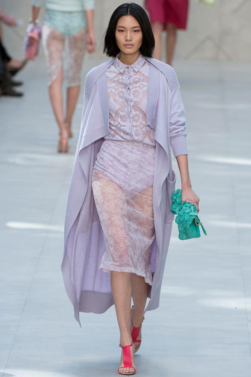 Burberry Prorsum Runway London Fashion Week Aw14: AESTHETICa: Burberry Prorsum Spring 2014