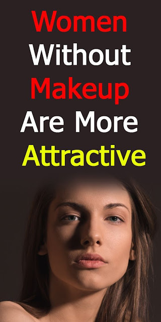 Women Without Makeup Are More Attractive