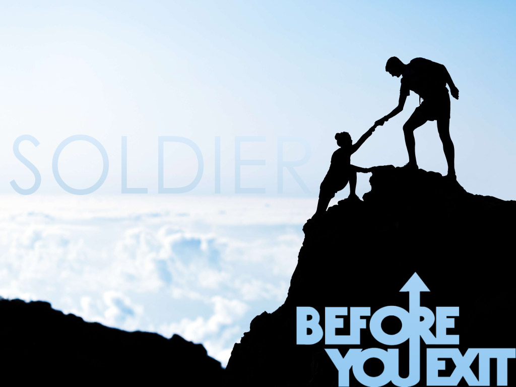 Soldier by Before You Exit