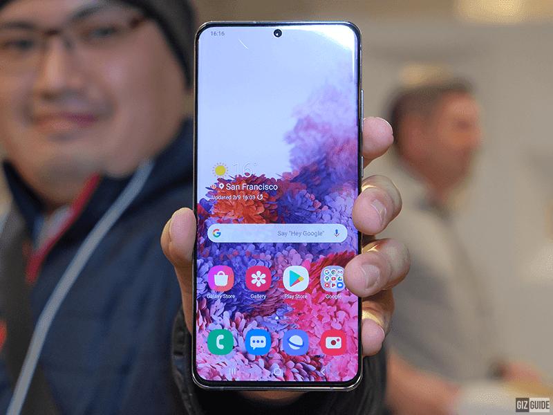 Samsung Galaxy S20 Ultra's massive 6.9-inch display