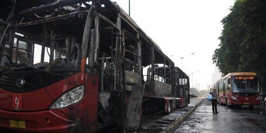 Polisi Periksa Teknisi Terkait Transjakarta Terbakar Di Al Azhar