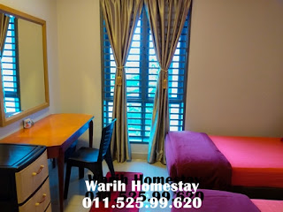 Warih-Homestay-Master-2nd-Bedroom