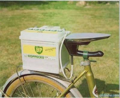 Asiento de la Bicicleta Caliente con una Plancha