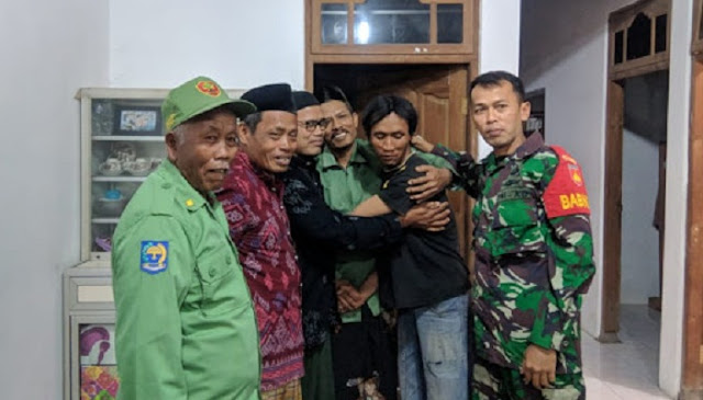 Cegah Adu Jotos, Babinsa Juwiring Damaikan Pertikaian Warga