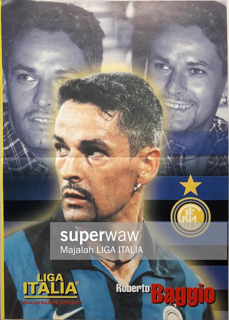 ROBERTO BAGGIO INTER MILAN 1999