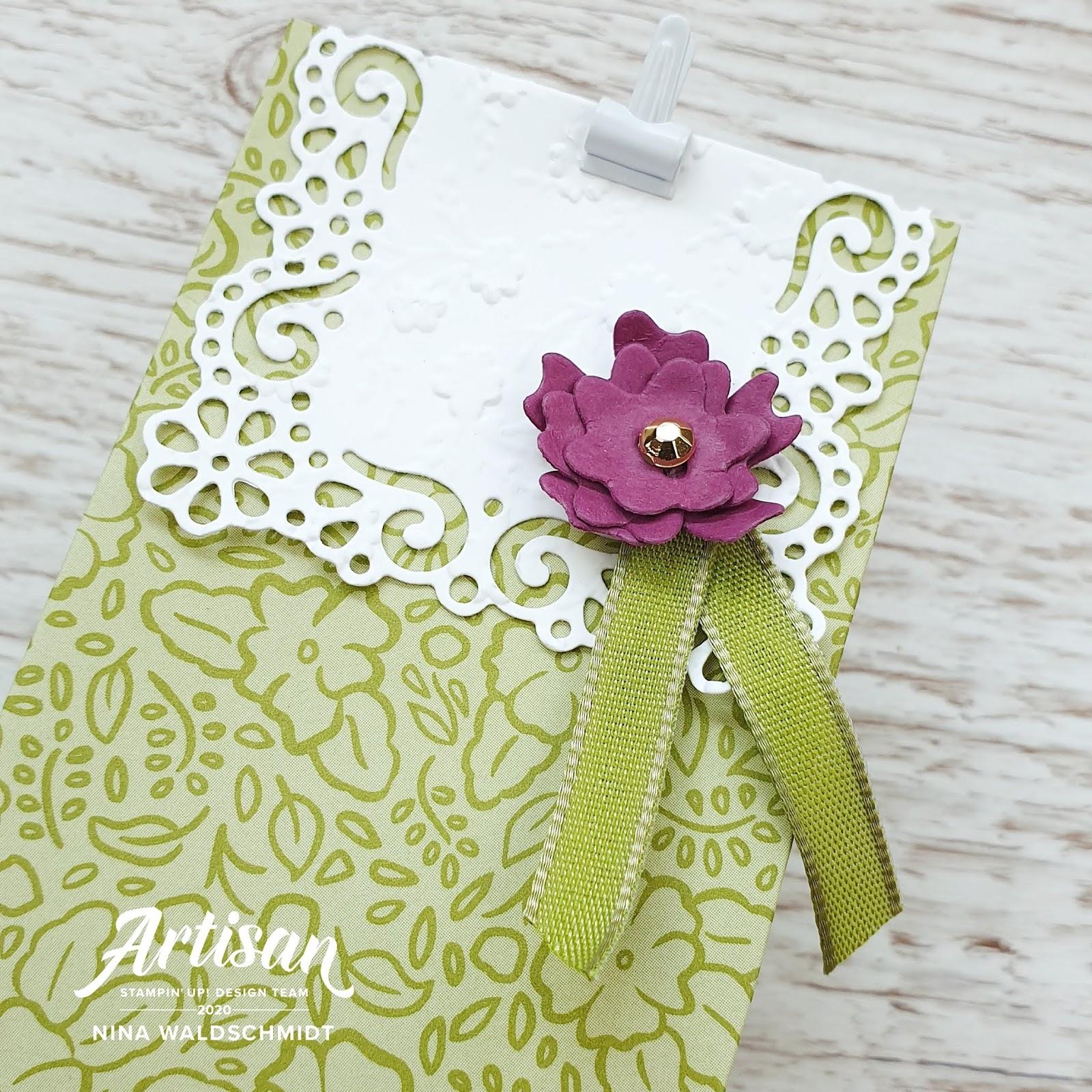 Mama Nina Stampin Up Artisan Design Team Blog Hop Ornate Garden