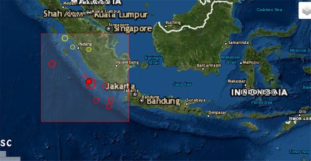 Δυο σεισμοί 6,8 και 6,9 Ρίχτερ στην Ινδονησία