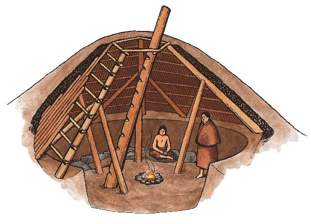 Shtf Shelter: Survival Sage Blog: PIT HOUSES ARE SUITABLE FOR AFTER THE SHTF