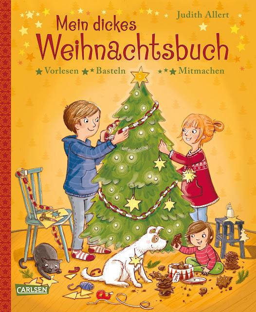 """Carlsen Verlag: """"Mein dickes Weihnachtsbuch"""""""