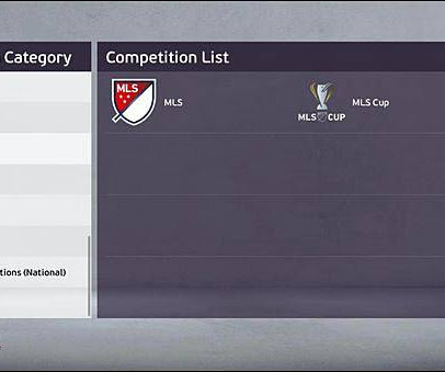 PES 2020 MLS & J.League Add-On For EvoWeb Patch V8