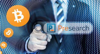Presearch - Searching Dibayar Cryptocurrency dan Bitcoin Gratis