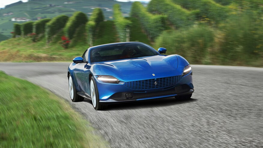 2021 ferrari roma first drive: sheer pace, unflappable