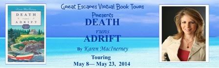 TOUR: Death Runs Adrift (Karen MacInerney)
