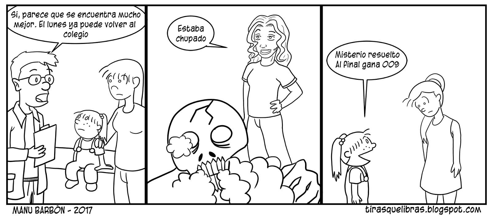 webcomic Jen. El desenlace del duelo