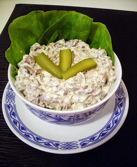 Krem salata sa pečurkama