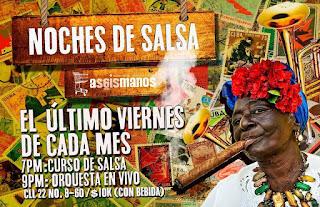 Noches de Salsa (Ultimo viernes de cada mes)