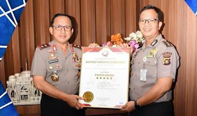 Rumah Sakit Bhayangkara Polda Jambi Terima Akreditasi Paripurna Bintang Lima