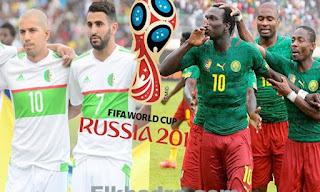 موعد مباراة الجزائر والكاميرون في تصفيات كأس العالم 9-10-2016