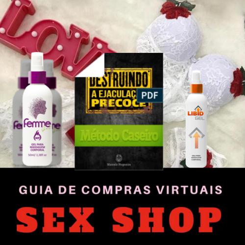 3 Melhores Produto Da Atualidade Sex Shop Feminino e Masculino
