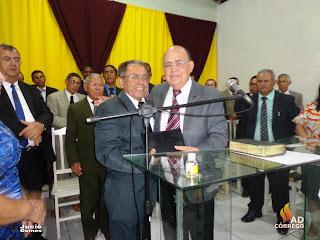 AD Córrego recebe seu novo Pastor