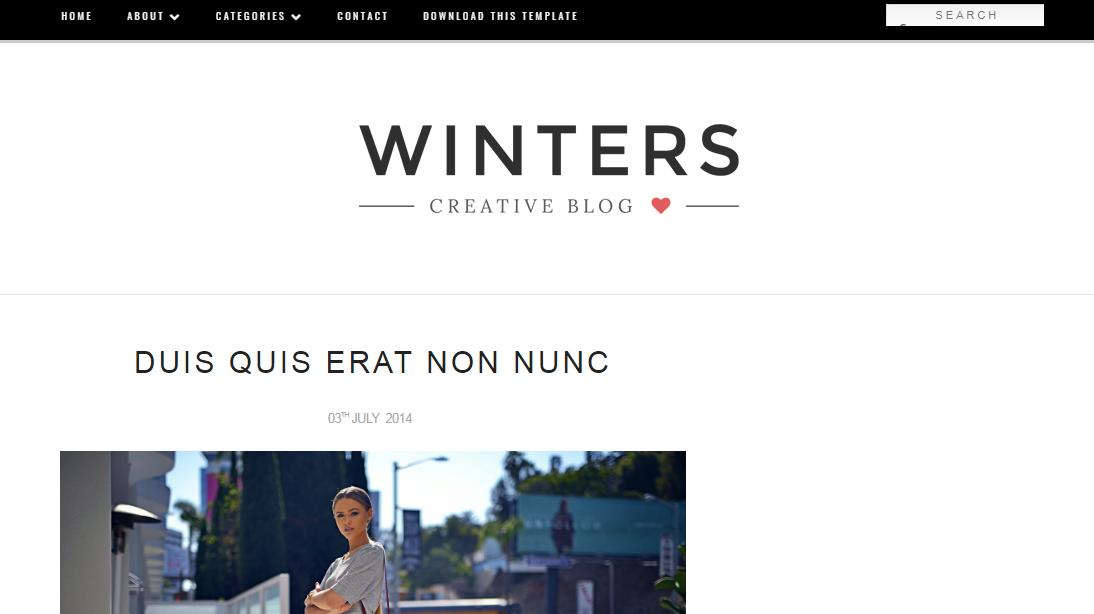 Mẫu blogger Winters tin tức đẹp