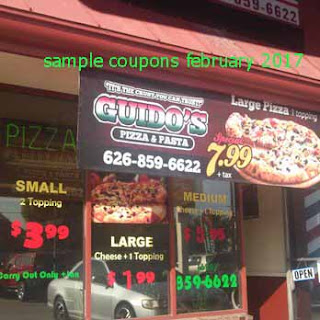 free Guidos Pizza coupons for february 2017
