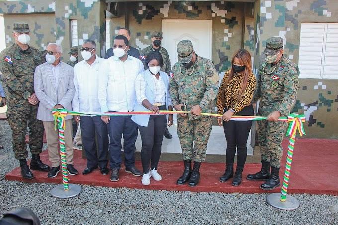 Inauguran destacamento militar Rinconcito