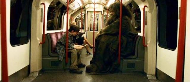 Хари и Хагрид в Хари Потър и философският камък