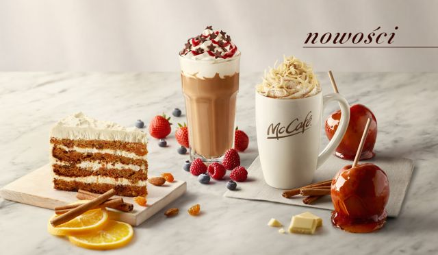 McDonalds Goes With Apple Pie Lattes In Poland This Winter