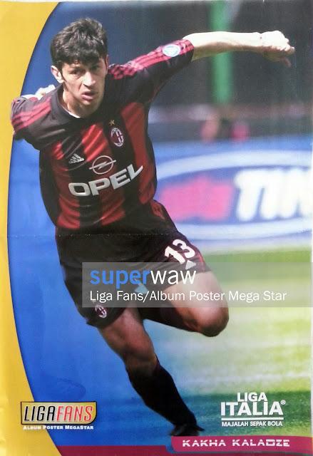 Poster Kakha Kaladze (AC Milan)