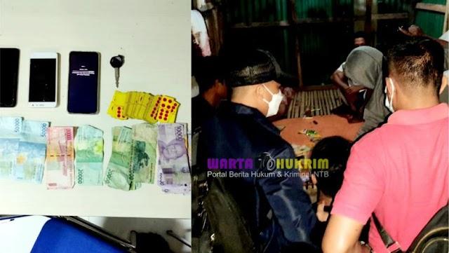 Main Judi Domino di Bulan Ramadhan, 4 Orang Pria Ditangkap Tim Puma