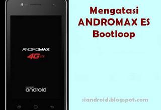 Mengatasi Andromax ES Hanya Tampil Logo atau Bootloop