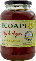 Miel Eucalyptus sin glisoato ECOAPI  Ecoapicultores producto saludable