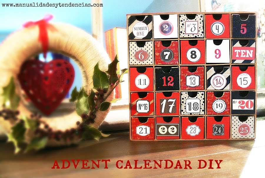 Advent calendar tutorial