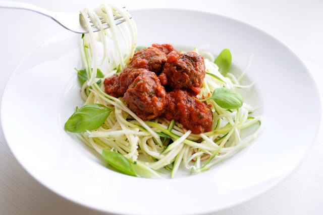 squashspaghetti opskrift