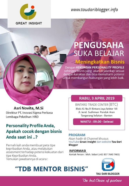 DISC, personality profile disc, kepribadian, karakter, tipe karakter, tipe kepribadian