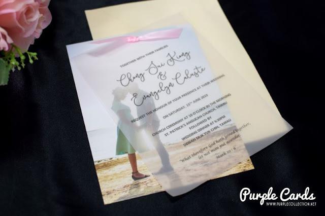 invitation wedding card, save the date, vellum paper, tracing, printer, printing, kad kahwin, malaysia, penang, kuala lumpur, ipoh, perak, pahang, bentong, kuantan, terengganu, kedah, kelantan, perlis, johor bahru, brunei, labuan, kota kinabalu, melaka, sabah, sarawak, kuching, sandakan, tawau, bintulu, miri, online purchase, buy, custom design, simple, elegant, satin ribbon, pink, wedding photo