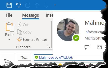 Microsoft Teams Outlook Presence Status - 3tallah's Blog