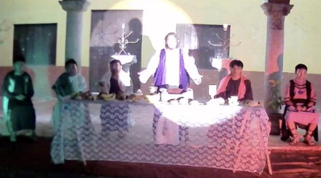 La última cena, sin compartir el pan y el vino, como medida ante el COVID19