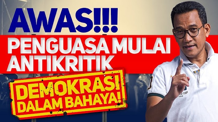 Diskusi UGM Berujung Teror, Refly Harun Ingatkan Soekarno & Gus Dur Dimakzulkan